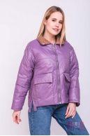 Куртка (колір - бузковий)