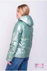 Куртка (цвет - изумруд)