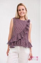 Блузка (цвет - бордо)