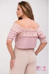 Блузка (колір - рожевий)