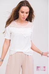 Блузка (цвет - белый)