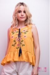 Блузка (колір - гірчиця)