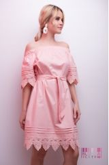 Платье (цвет - розовый)