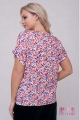 Блузка (цвет - фиолетовый)