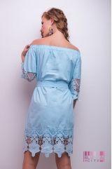 Сукня (колір - блакитний)
