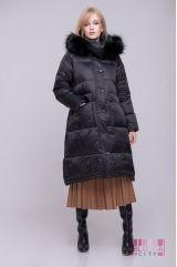 Пальто (цвет - черный)