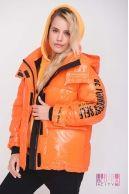 Куртка (цвет - оранжевий)