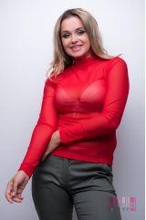 Водолазка (цвет - красный)