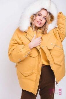 Куртка (цвет - горчица)