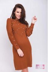 Сукня (колір - коричневий)