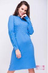 Платье (цвет - голубой)