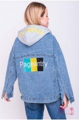 Куртка (колір - синій)