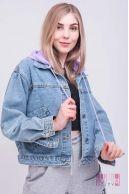 Куртка (цвет - фиолетовый)