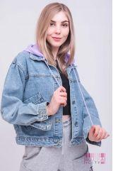 Куртка (колір - фіолетовий)