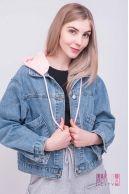 Куртка (колір - пудрово-рожев.)