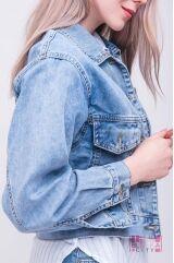 Куртка (колір - блакитний)