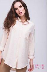 Блузка (цвет - бежевый)