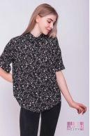 Блузка (цвет - черный)