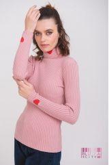 Водолазка (цвет - розовый)