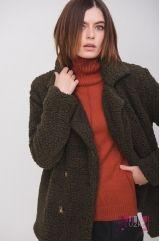 Пальто (цвет - хаки)