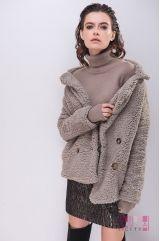 Пальто (цвет - серый)