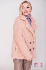 Пальто (цвет - паст.-розовый)
