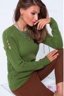 Джемпер (колір - зелений)