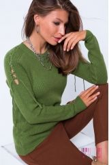 Джемпер (цвет - зеленый)