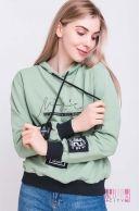 Толстовка (цвет - зеленый)