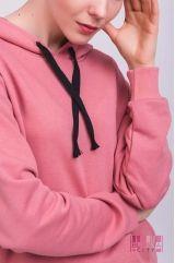 Толстовка (колір - брудно-рожев)