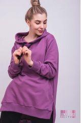 Толстовка (цвет - фиолетовый)