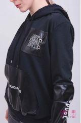 Толстовка (колір - чорний)