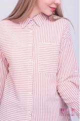 Блузка (цвет - паст.-розовый)
