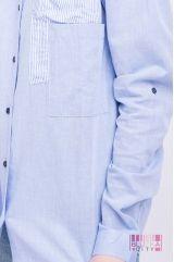 Блузка (цвет - джинс)