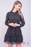 Платье (цвет - темно-синий)
