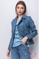 Куртка (цвет - голубой)