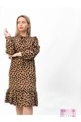 Платье (цвет - бежевый)