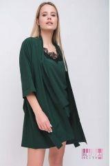 Халат (цвет - зеленый)