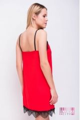 Нічна сорочка (колір - червоний)