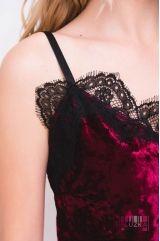 Нічна сорочка (колір - бордо)